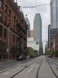 Wellington Street, Toronto, Canada Stock Images