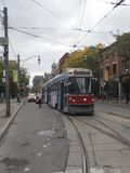 Tramway in Toronto, Canada Royalty Free Stock Photography