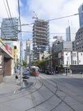 McCaul Street, Toronto, Canada Royalty Free Stock Photography
