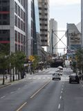 Wellington Street, Toronto, Canada Stock Photos