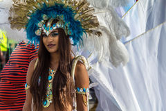 Toronto Caribbean Carnival 2015 C. Caribana, now known as The Scotiabank Toronto Caribbean Carnival, a celebration of Caribbean culture and traditions held Royalty Free Stock Image
