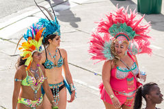 Toronto Caribbean Carnival 2015 H. Caribana, now known as The Scotiabank Toronto Caribbean Carnival, a celebration of Caribbean culture and traditions held Royalty Free Stock Images
