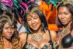 Toronto Caribbean Carnival 2015 I. Caribana, now known as The Scotiabank Toronto Caribbean Carnival, a celebration of Caribbean culture and traditions held Royalty Free Stock Photos