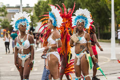 Toronto Caribbean Carnival 2015 J. Caribana, now known as The Scotiabank Toronto Caribbean Carnival, a celebration of Caribbean culture and traditions held Royalty Free Stock Image