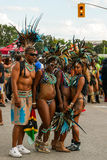 Toronto Caribbean Carnival 2015 N. Caribana, now known as The Scotiabank Toronto Caribbean Carnival, a celebration of Caribbean culture and traditions held Stock Image