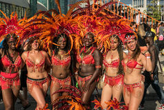 Toronto Caribbean Carnival 2015 S. Caribana, now known as The Scotiabank Toronto Caribbean Carnival, a celebration of Caribbean culture and traditions held Royalty Free Stock Images