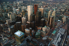 Toronto CBD Skyscrapers Royalty Free Stock Images