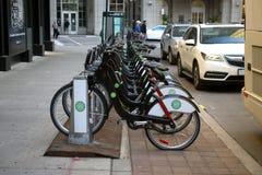 Free Toronto City Bikes For Rent Royalty Free Stock Photo - 174892585