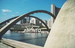 Toronto City Hall Stock Photography