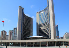 Toronto City Hall. TORONTO, CANADA - April 22 2014: The Toronto City Hall, or New City Hall, the municipal government of Toronto, Ontario, Canada, and one of the Royalty Free Stock Photos