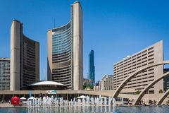 Toronto City Hall Stock Photo