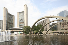 Toronto City Hall Stock Photos