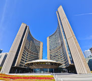 Toronto City Hall in a sunny day in Toronto Stock Photography