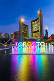 Toronto City Hall Stock Images
