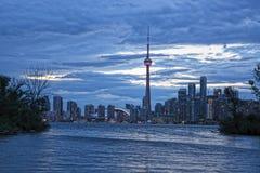 Toronto city Panaroma Royalty Free Stock Photo