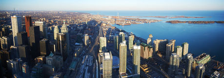 Toronto city panorama Stock Image