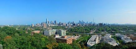 Toronto city panorama royalty free stock image