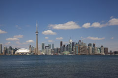 Toronto city skyline Royalty Free Stock Photography