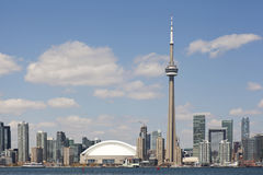 Toronto city skyline Royalty Free Stock Images