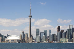 Toronto city skyline Royalty Free Stock Image