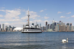 Toronto city skyline Stock Image