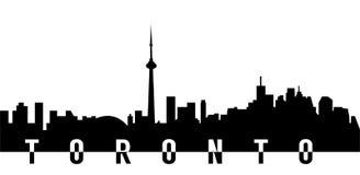 toronto city skyline Royalty Free Stock Photo