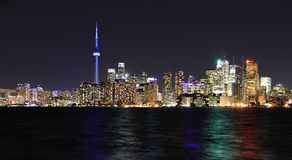 Toronto city waterfront Royalty Free Stock Images