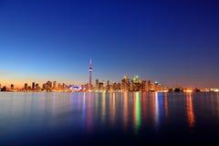 Toronto cityscape Royaltyfri Foto