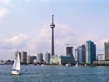 Toronto Cityscape Stock Image