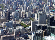 Toronto cityscape Stock Images