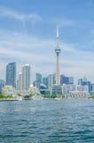 Toronto Cityscape Arkivfoton