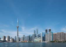 Toronto Cityscape Royaltyfria Foton