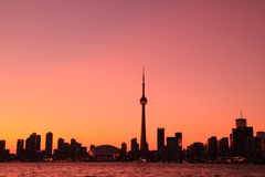 Toronto Cityscape from Central Island Stock Images