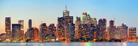 Toronto cityscape Stock Images