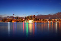 Toronto cityscape Royalty Free Stock Photo