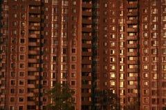 Toronto, construção alta do círculo de Sandhurst Imagem de Stock