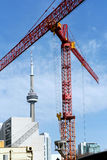 Toronto construction Royalty Free Stock Photos