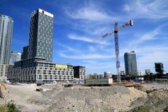 Toronto Construction Area Royalty Free Stock Image