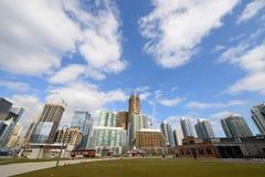 Toronto construction development Stock Image