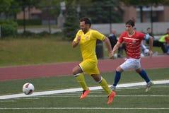 Toronto Croatia vs. Toronto Atomic FC Stock Photography
