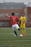 Toronto Croatia vs. Toronto Atomic FC Royalty Free Stock Photography