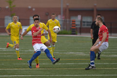 Toronto Croatia vs. Toronto Atomic FC Stock Photos