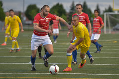 Toronto Croatia vs. Toronto Atomic FC Stock Photo