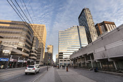 Toronto da baixa, Canadá imagens de stock