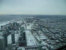 Toronto dal cielo Fotografia Stock Libera da Diritti