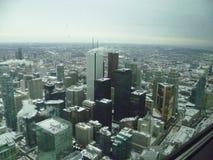 Toronto dal cielo Fotografia Stock