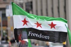 Reunião para marcar 2 anos de volta síria em Toronto Foto de Stock Royalty Free