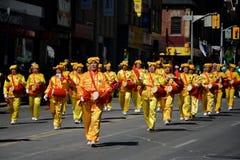 Desfile anual del día del St. Patrickâs de Toronto imágenes de archivo libres de regalías
