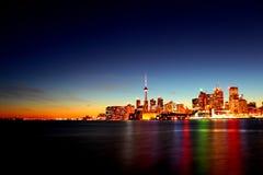 Toronto de oro Fotos de archivo