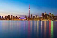 Toronto de stad in Royalty-vrije Stock Afbeeldingen